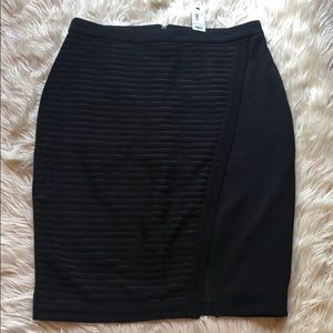 The Limited NWT black pencil skirt